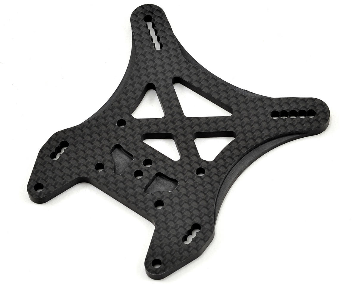 JConcepts MBX7 4.0mm Carbon Fiber Rear Shock Tower