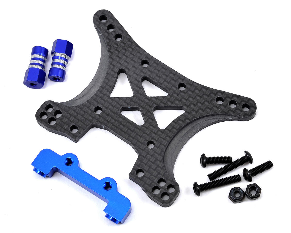 JConcepts Slash 4x4 Carbon Fiber Front Shock Tower Conversion Kit (Traxxas Ultimate)