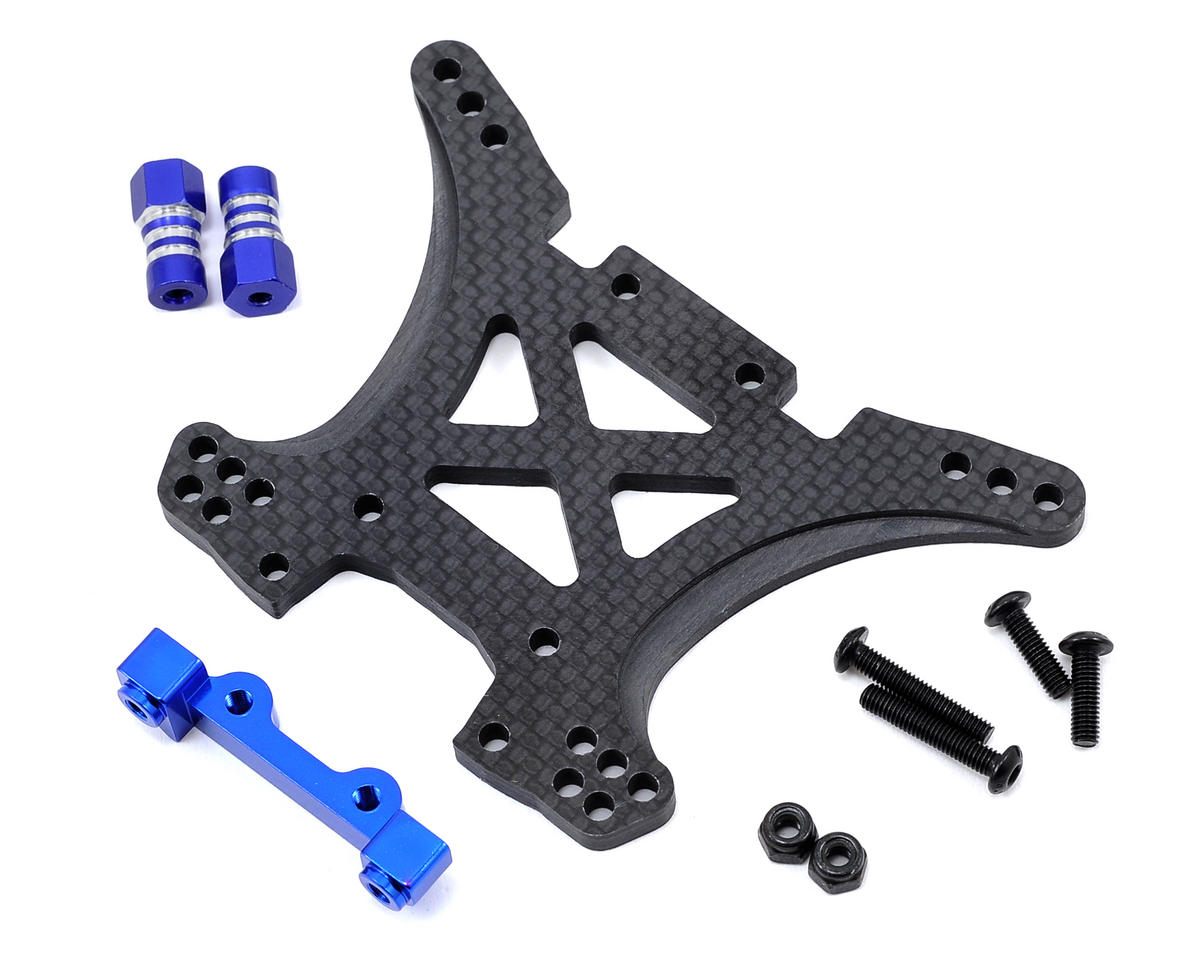 JConcepts Slash 4x4 Carbon Fiber Rear Shock Tower Conversion Kit