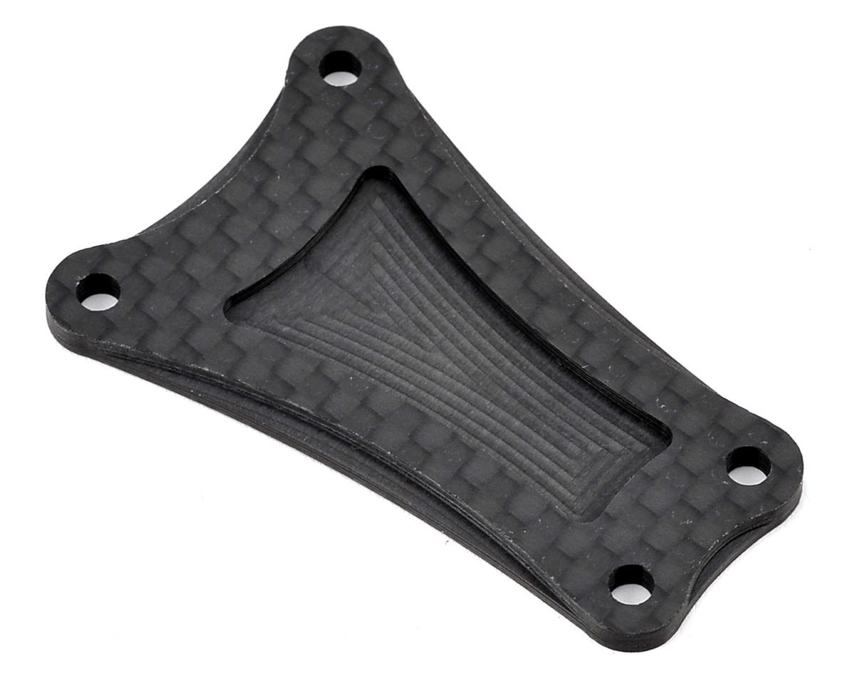 JConcepts RC10T Team Truck 2.5mm Carbon Fiber Transmission Brace (Team Associated RC10 T)