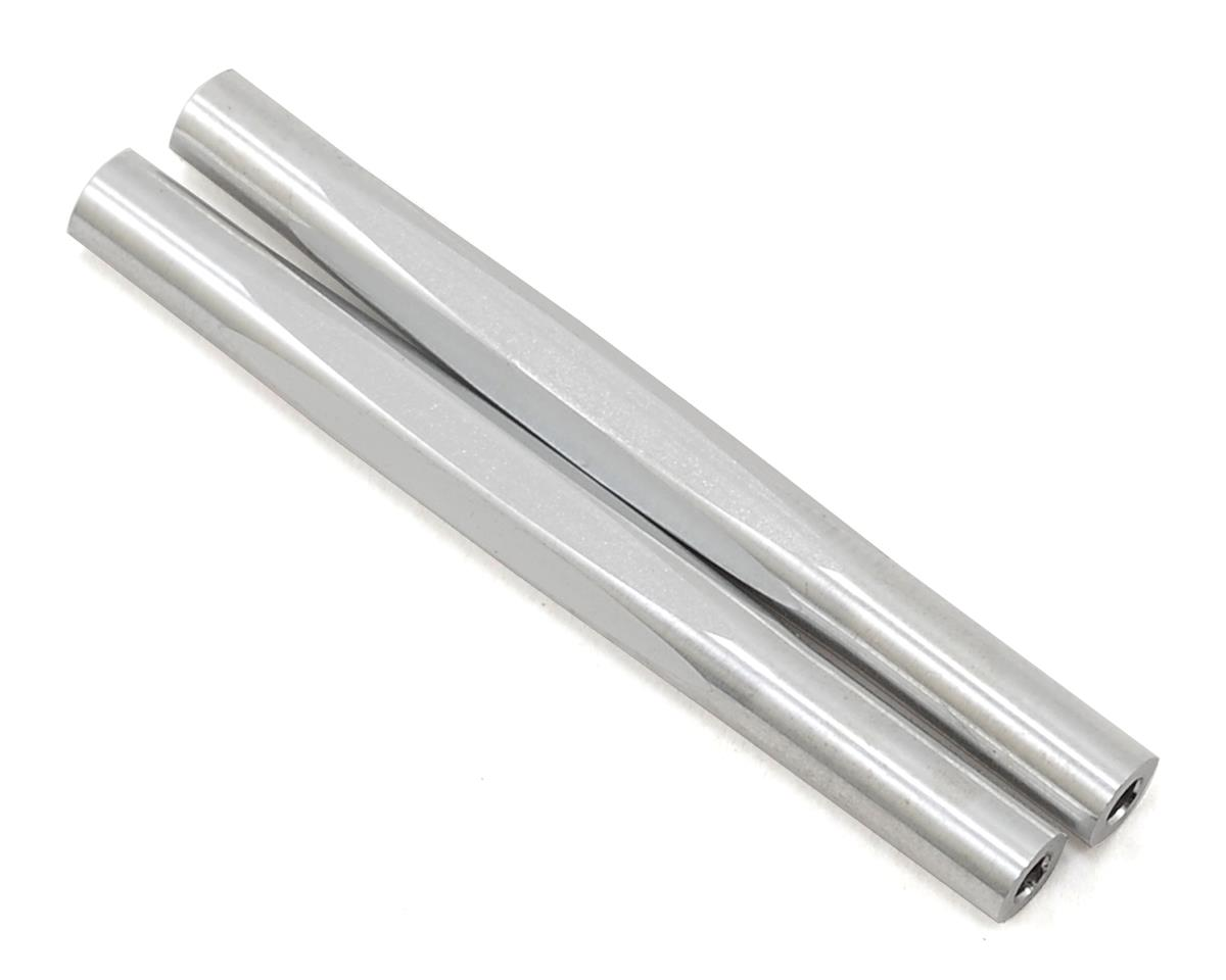 RC10 Classic Diamond Wing Tubes (Silver) (2) by JConcepts