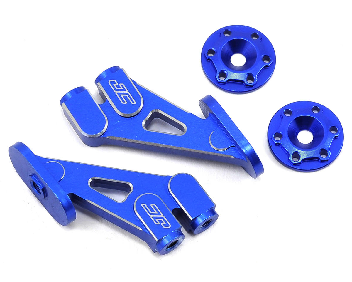 JConcepts B5M Aluminum Wing Mount Set (Blue)
