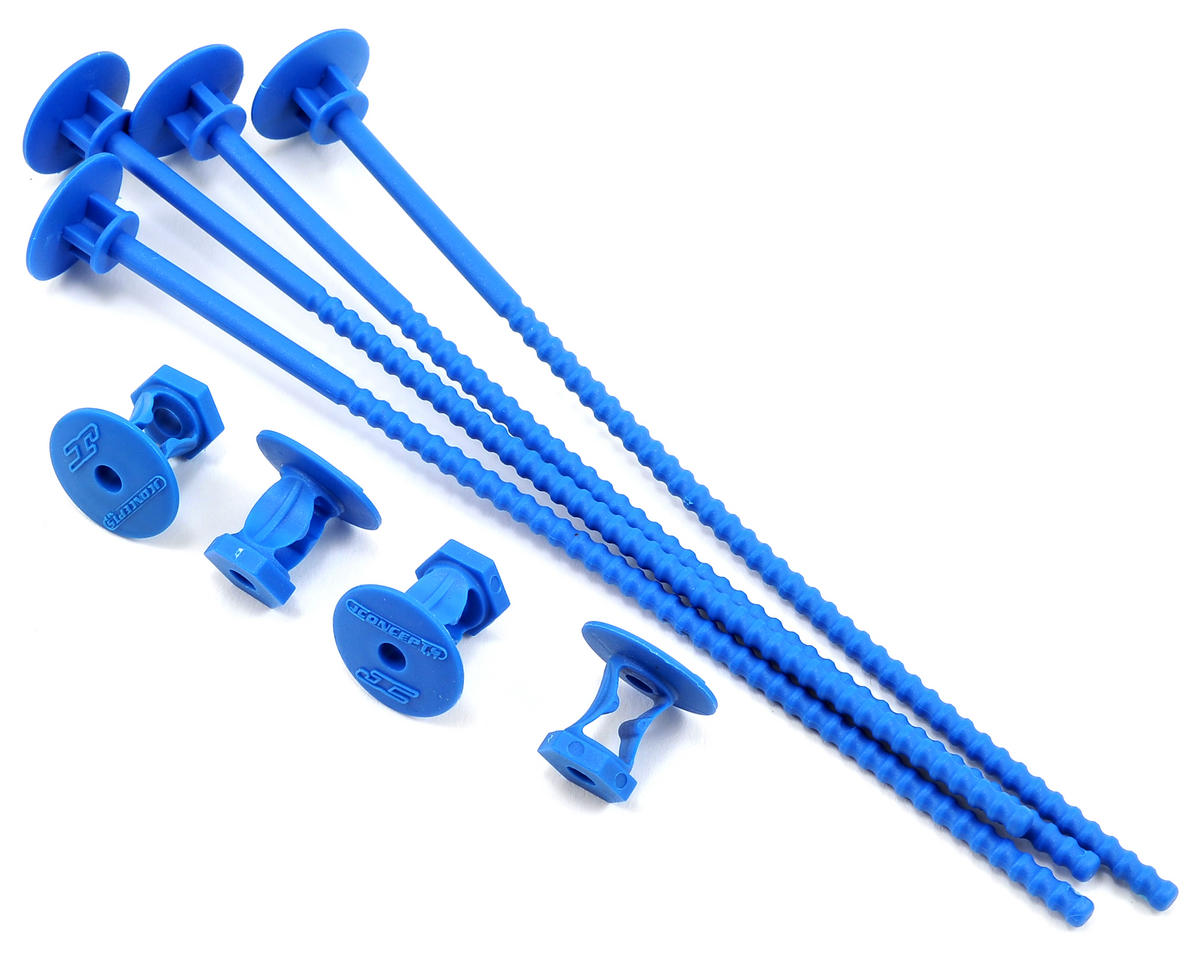 JConcepts 1/10 Offroad Tire Stick (Blue) (4)