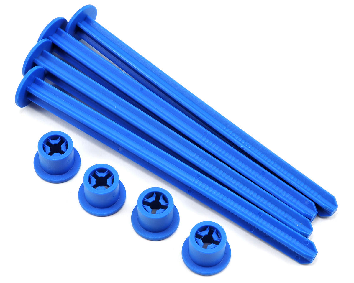 1/8th Buggy Off Road Tire Stick (Blue) (4) by JConcepts