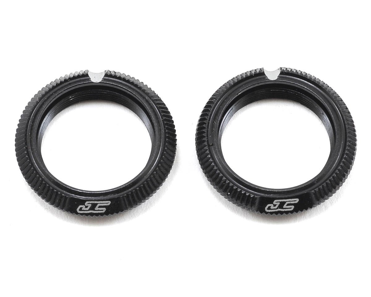 Fin Aluminum 12mm Shock Collar (Black) (2) by JConcepts