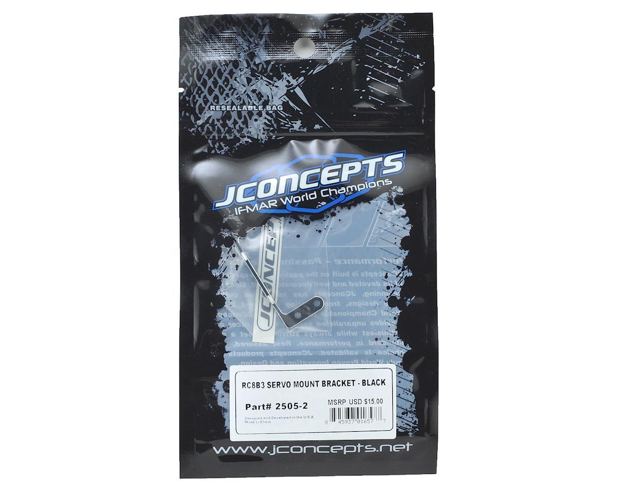 JConcepts RC8B3/RC8T3 Servo Bracket (Black)