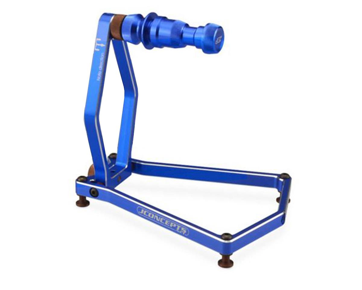 JConcepts Tire Balancer w/Case (Blue)