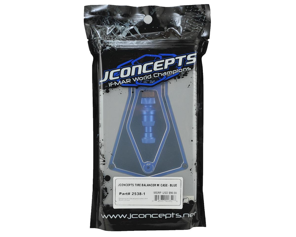 JConcepts Tire Balancer w/Case (Blue)