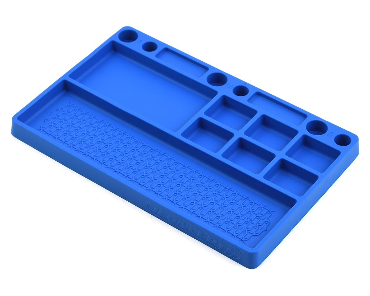 Rubber Parts Tray (Blue) by JConcepts