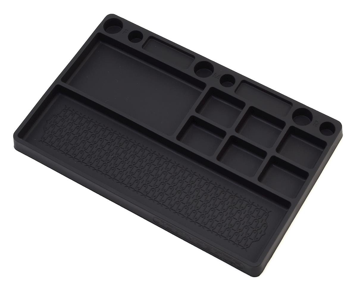 Rubber Parts Tray (Black) by JConcepts