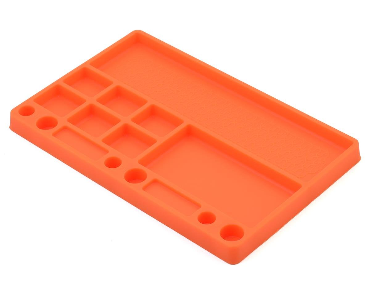 Rubber Parts Tray (Orange) by JConcepts
