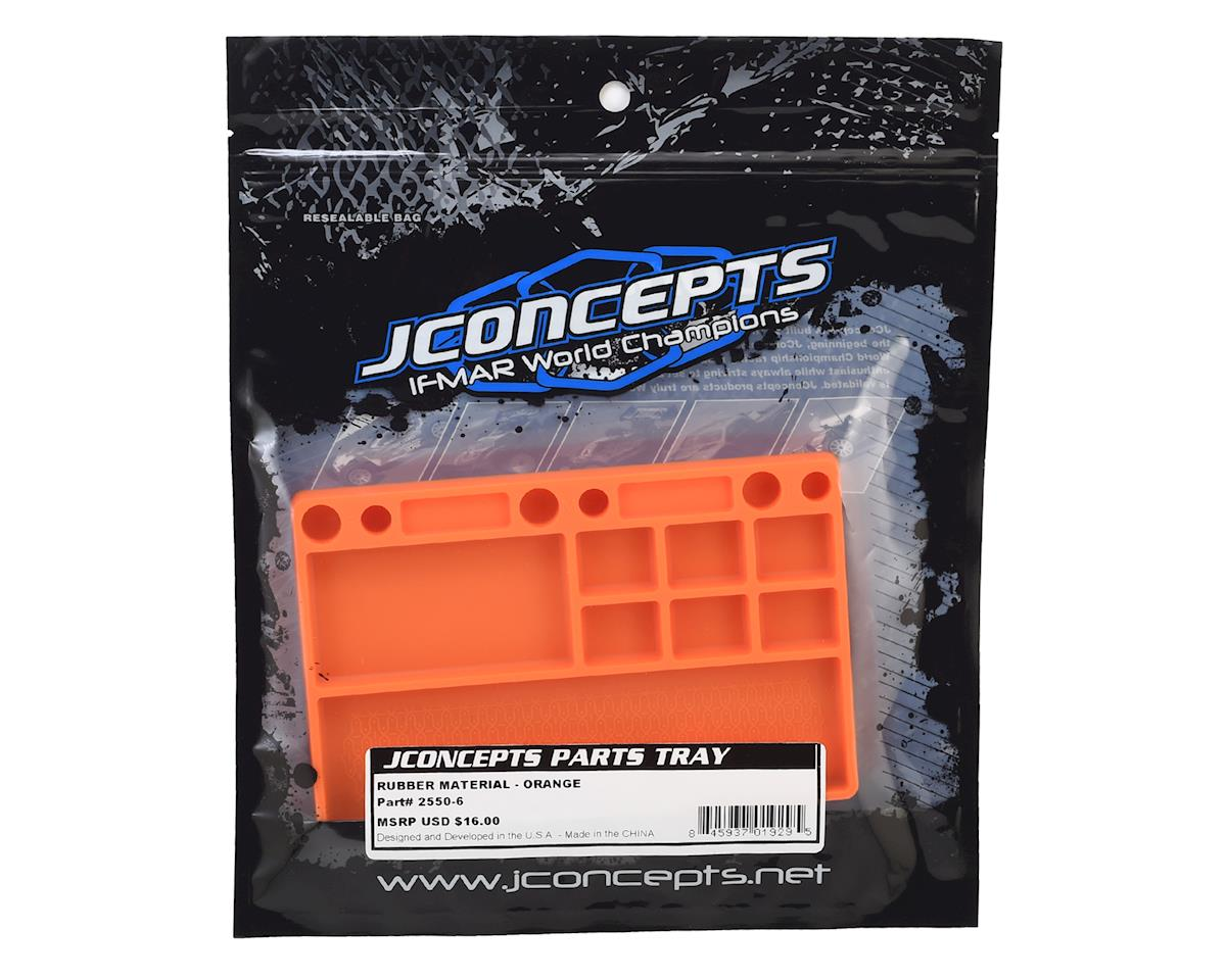 JConcepts Rubber Parts Tray (Orange)