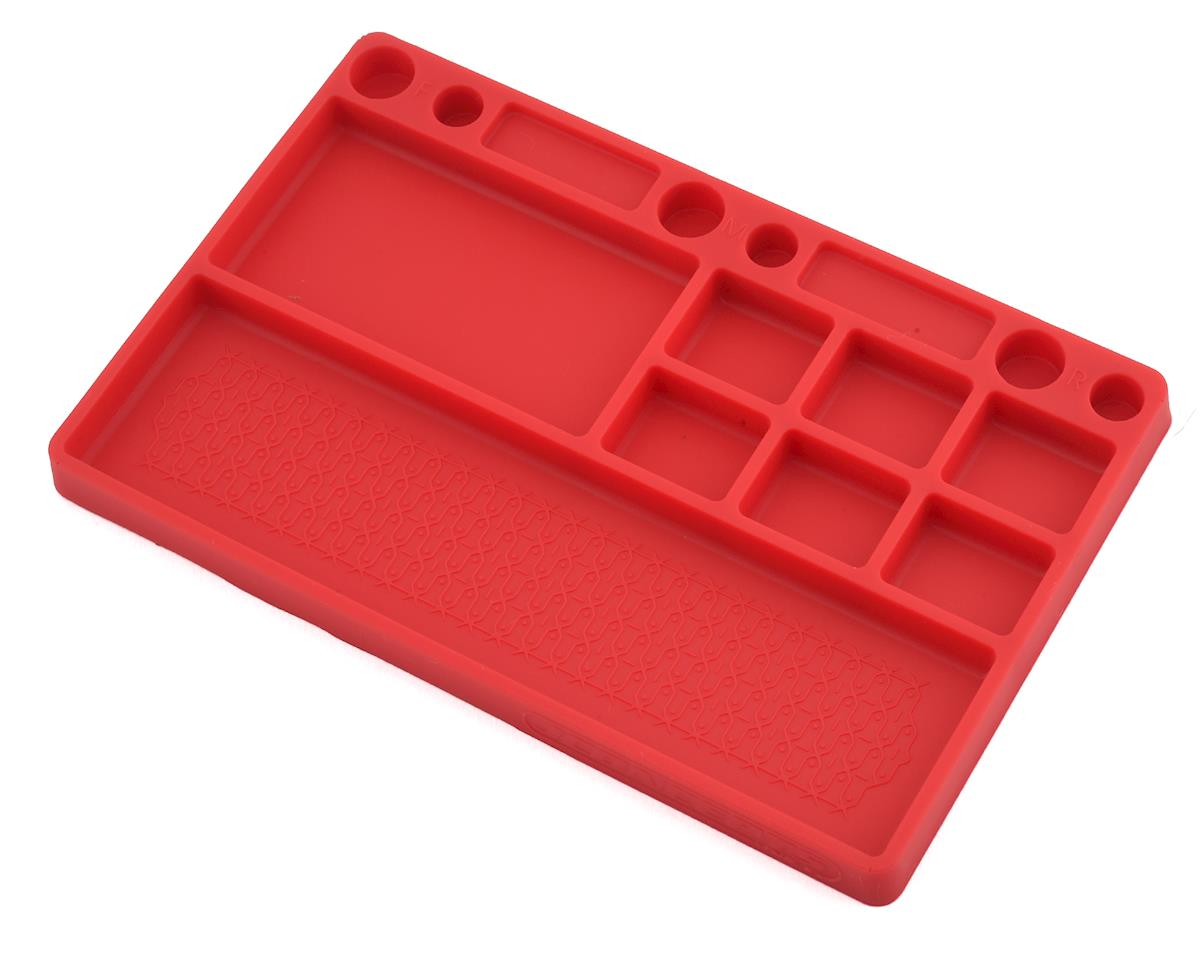 JConcepts Rubber Parts Tray (Red)