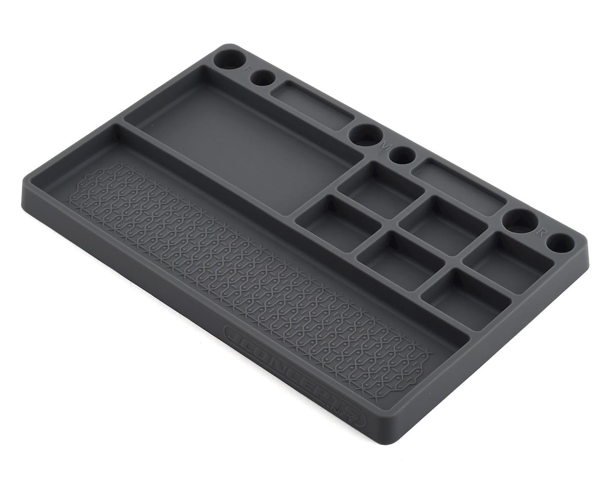 JConcepts Rubber Parts Tray (Grey)