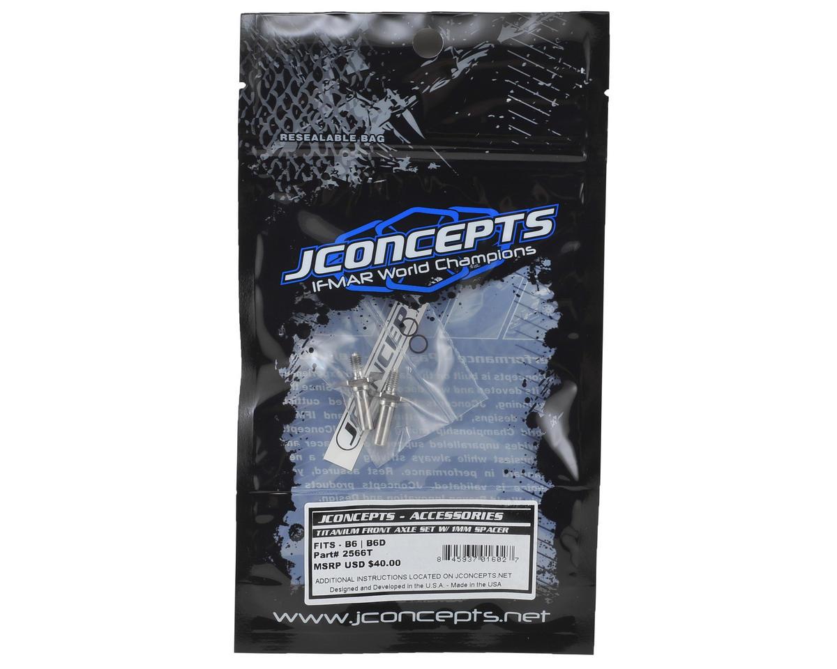 JConcepts B6/B6D Titanium Front Axle Set