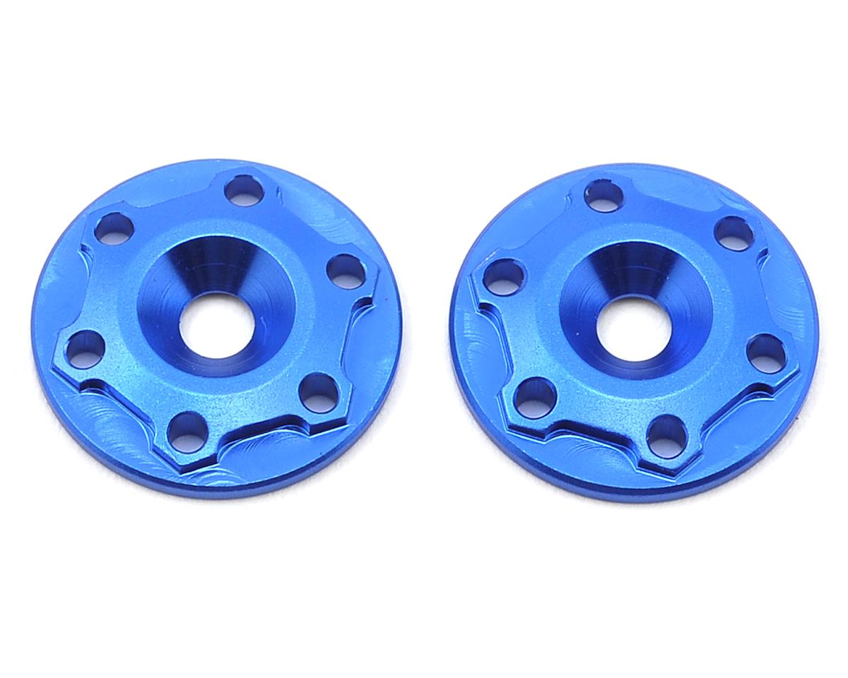 "Aluminum B6/B6D ""Finnisher"" Wing Buttons (Blue) (2) by JConcepts"
