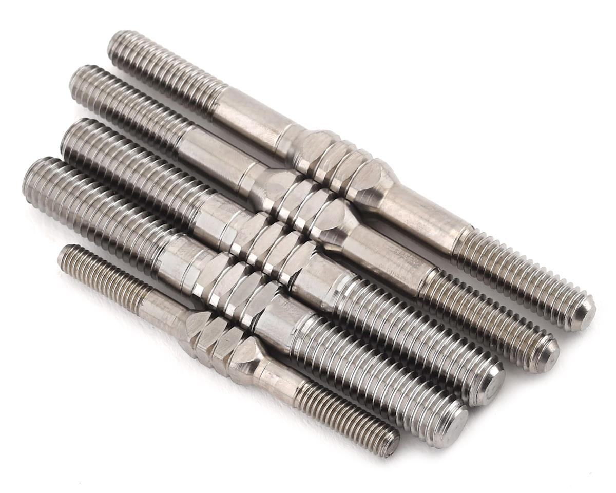 JConcepts Mugen MBX-8 Fin Titanium Turnbuckle Set (5)