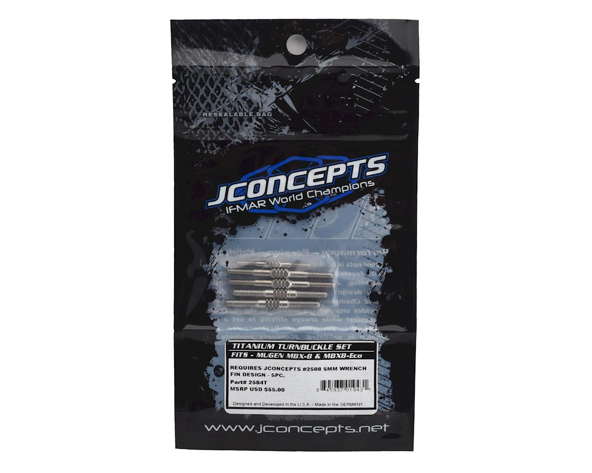 JConcepts Fin 1//8 Turnbuckle Wrench 5mm Open-End JCO2508