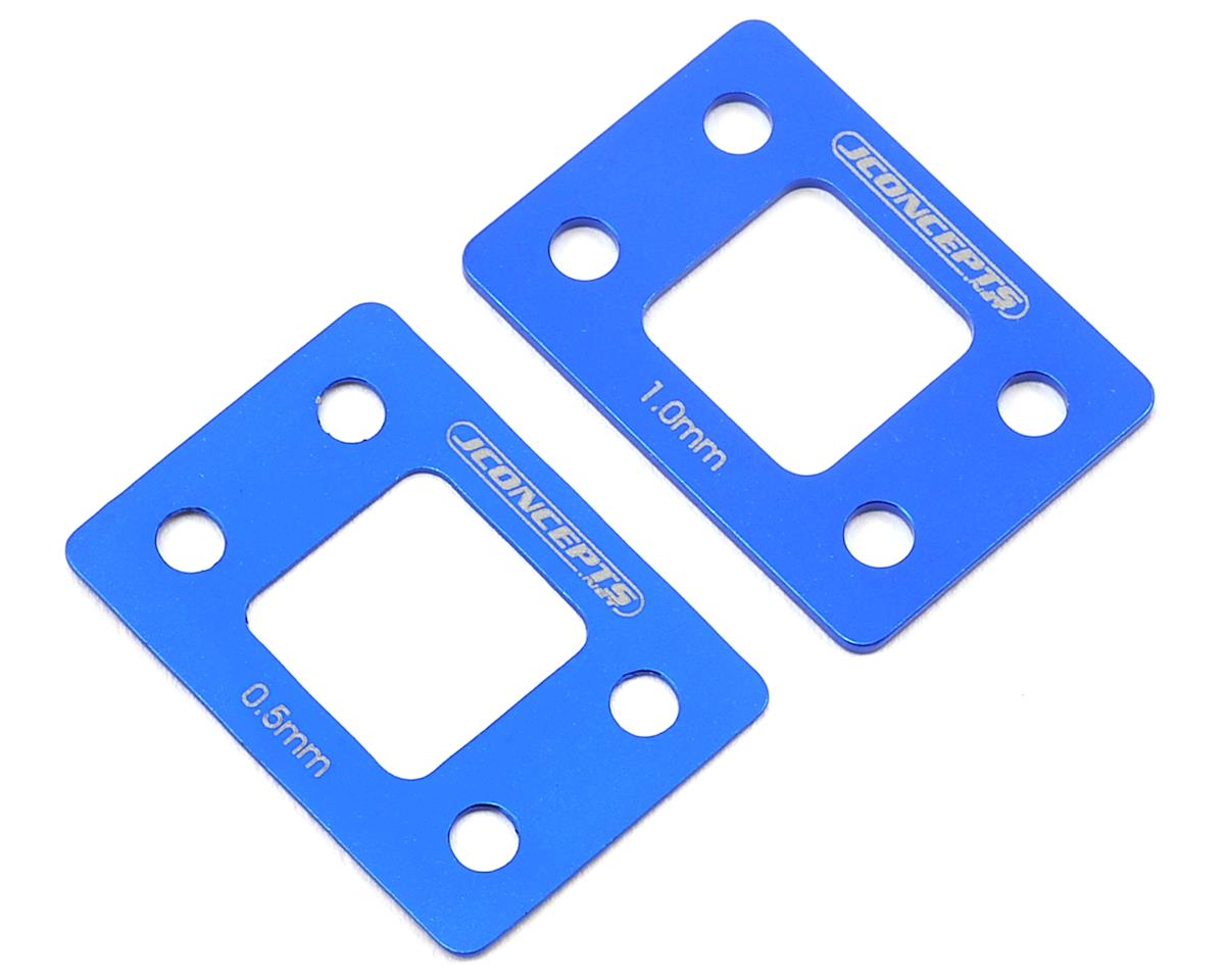 JConcepts B6/B6D Front Suspension Shim Set (Blue)