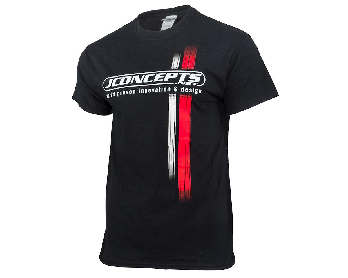 JConcepts JR Mitch Racing Stripes T-Shirt (L)