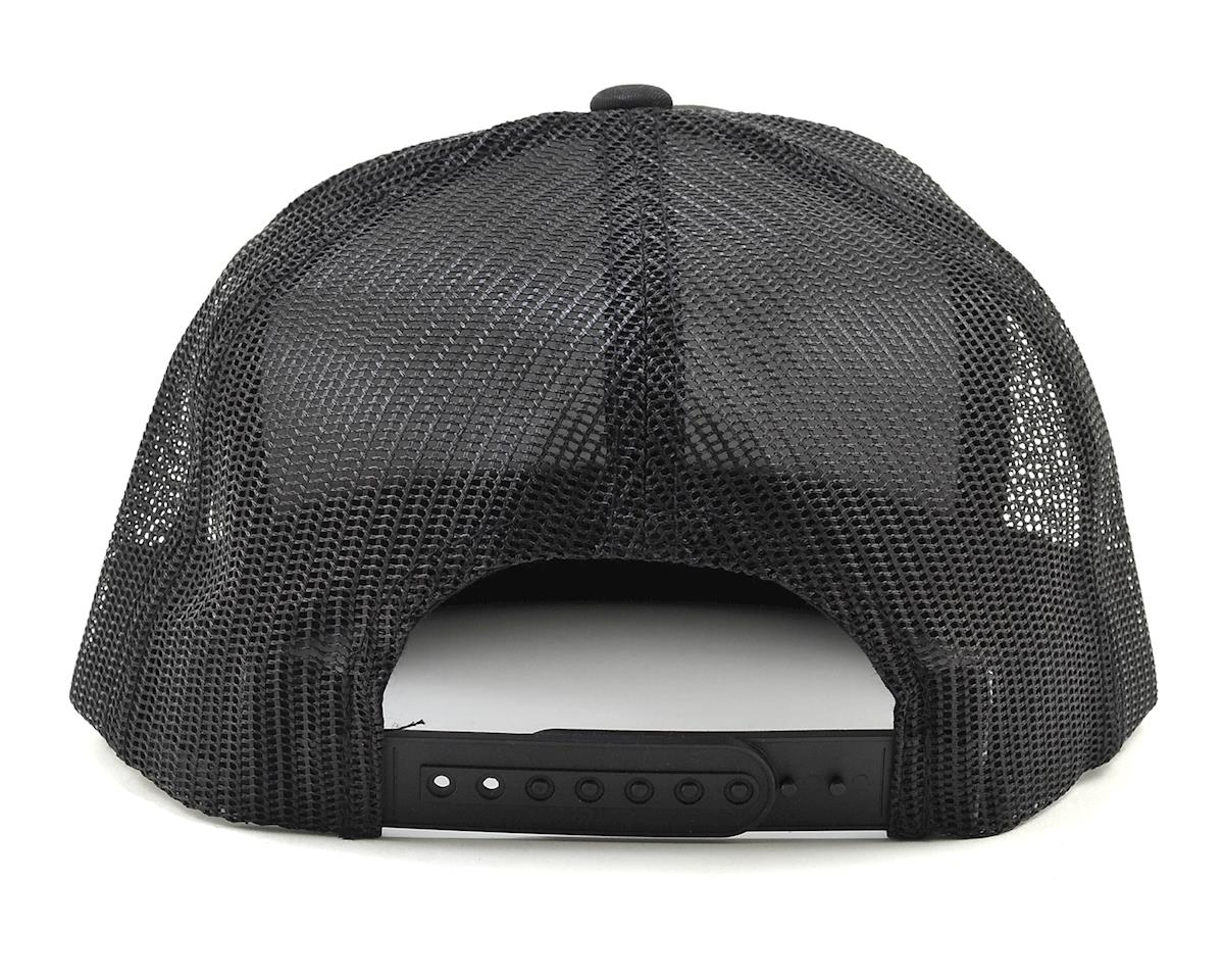 JConcepts Skull Snapback Flatbill Hat (Black) (One Size Fits Most)