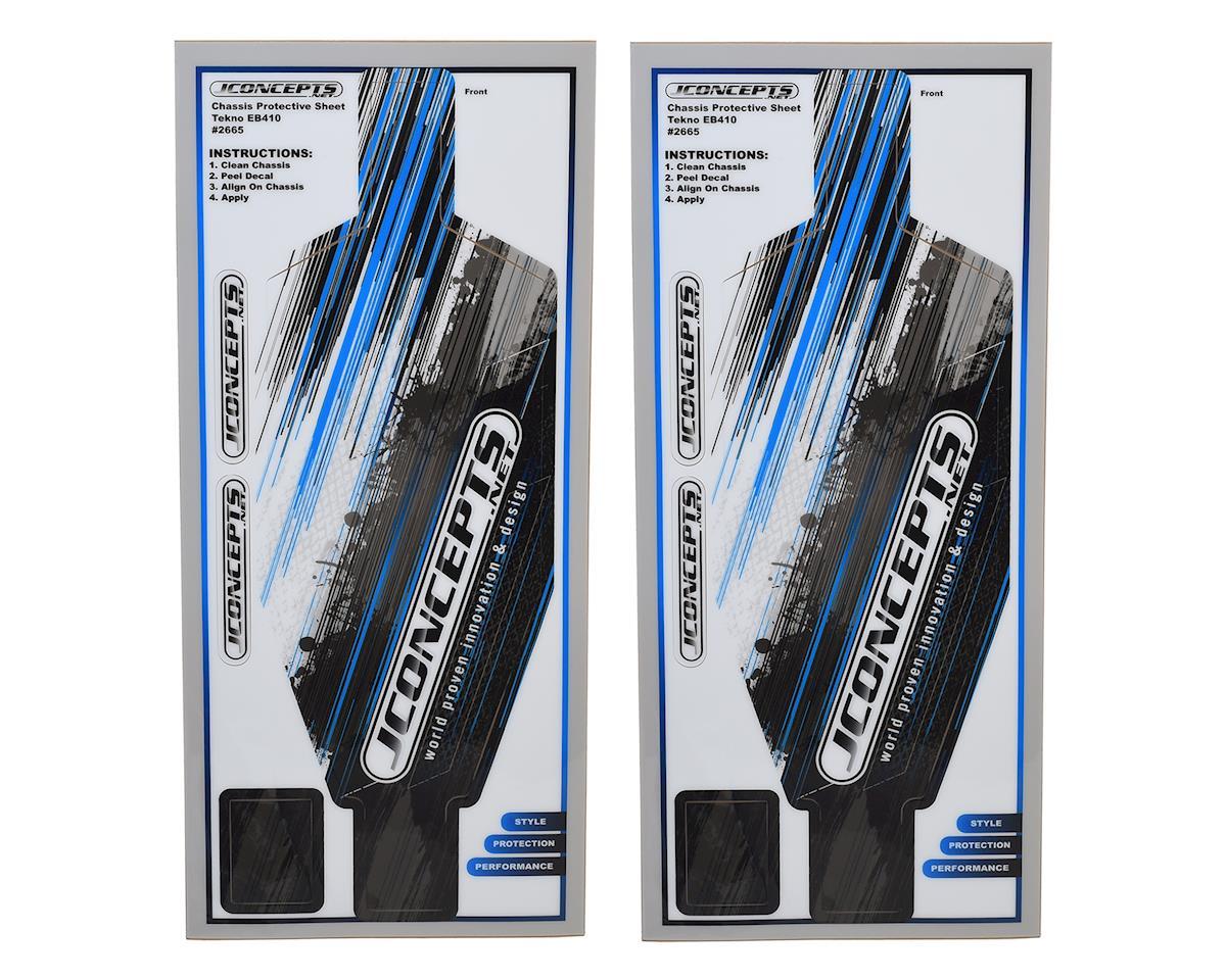 JConcepts Tekno EB410 Precut Chassis Protective Sheet