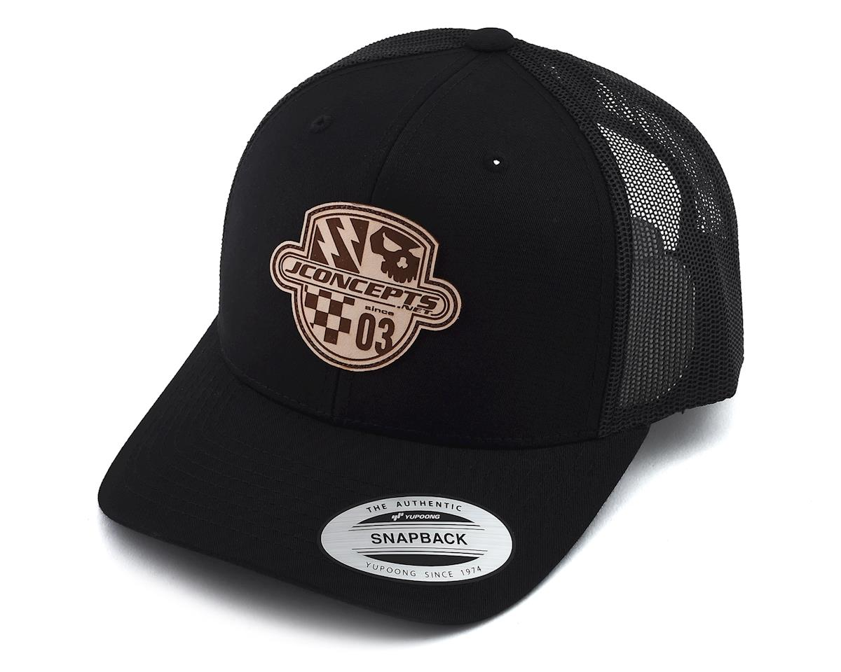 JConcepts Destination Hat Snapback Round Bill Hat (Black)