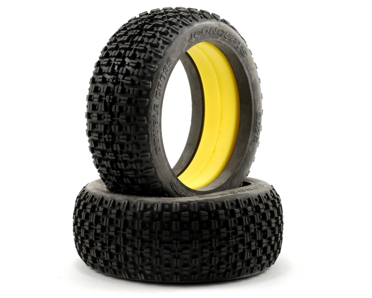 JConcepts Double Cross 1/8 Buggy Tires (2)