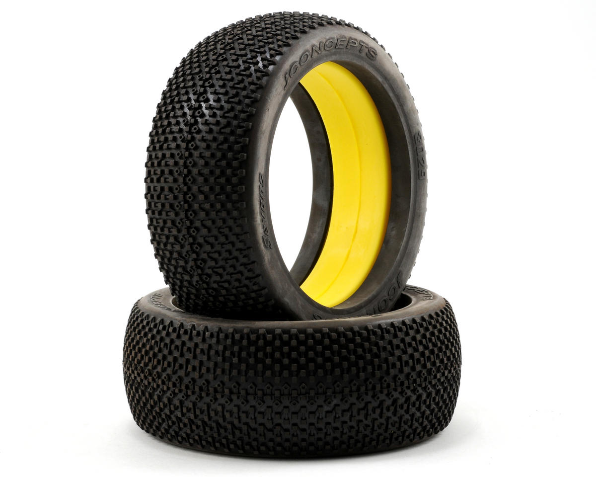 JConcepts Sevens 1/8th Buggy Tires (2)