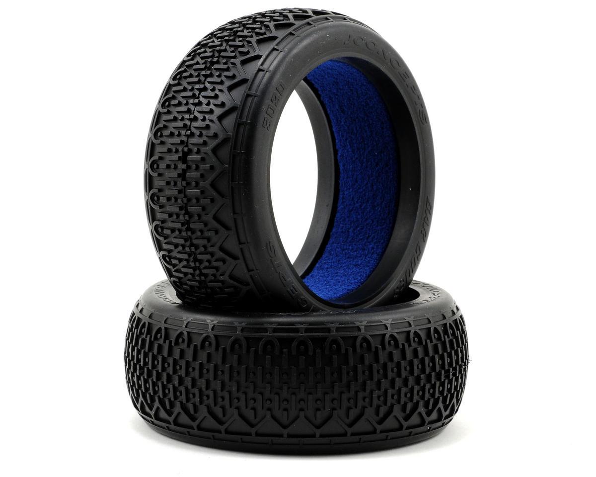 JConcepts Bar Codes 1/8th Buggy Tire w/Profiled Insert (2)