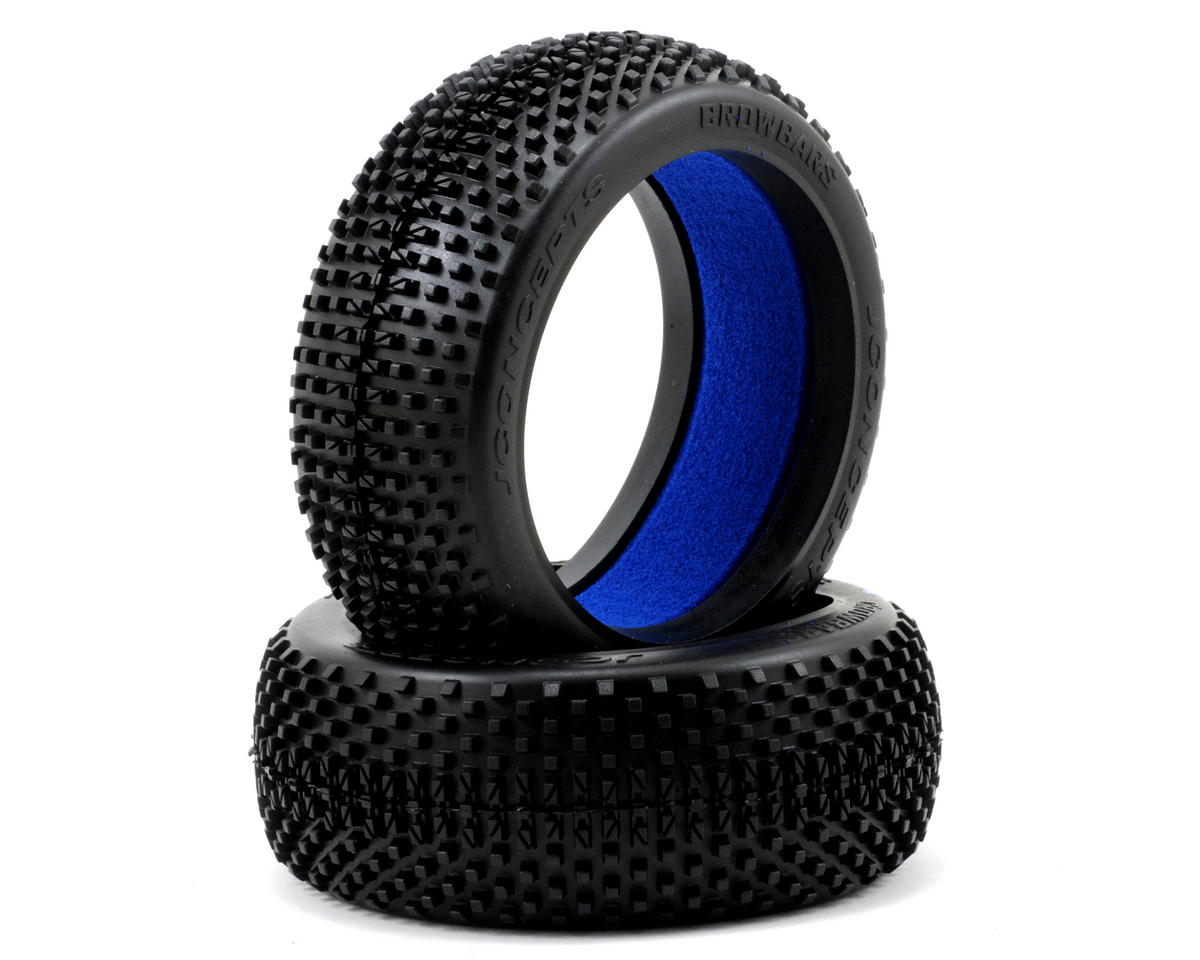 JConcepts Crowbars 1/8th Buggy Tires (2)