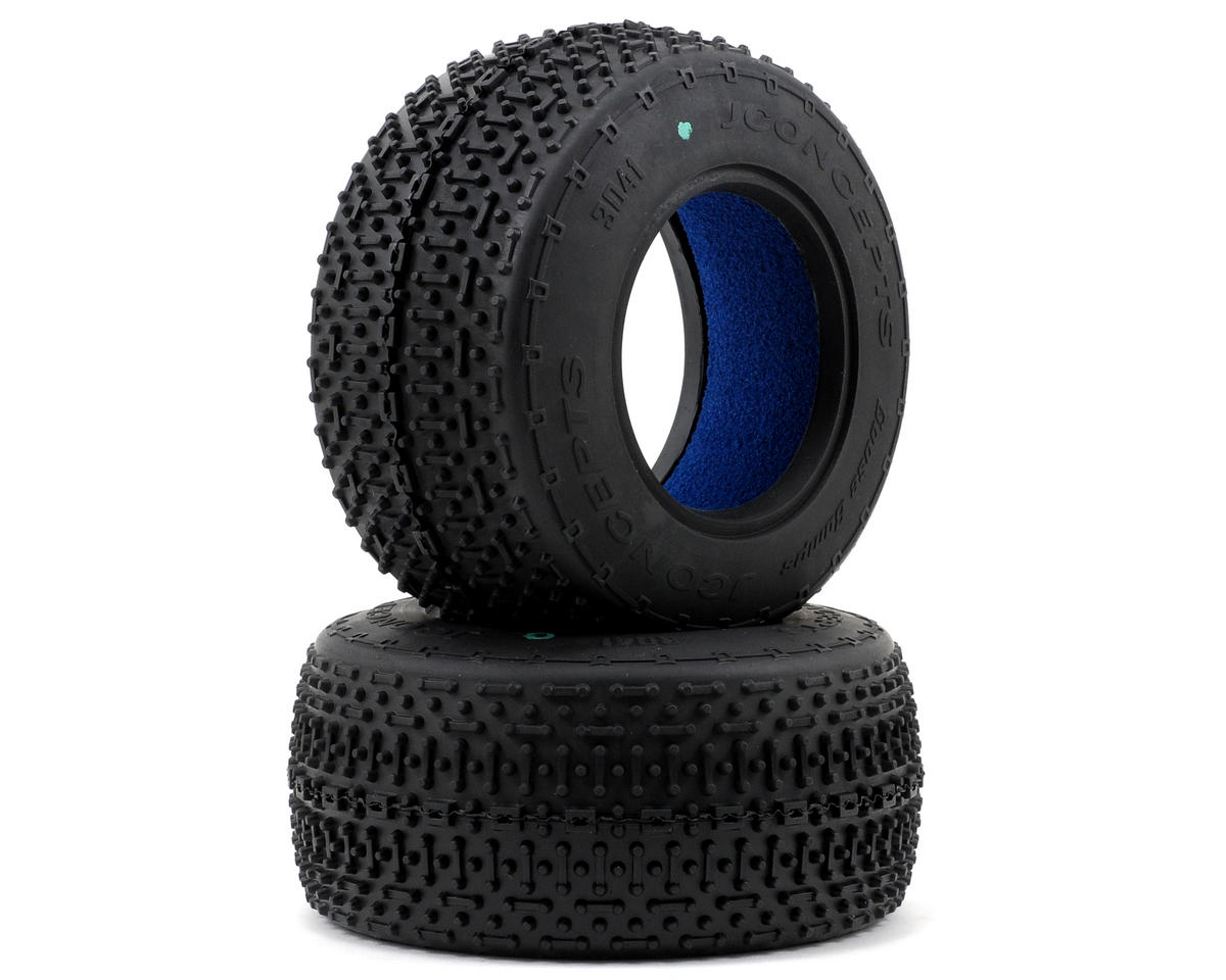 JConcepts Goose Bumps Short Course Tires (2) (Green)