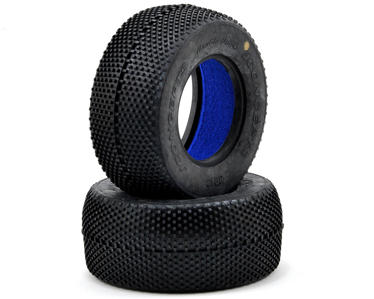 JConcepts Double Dee's Short Course Tires (2)