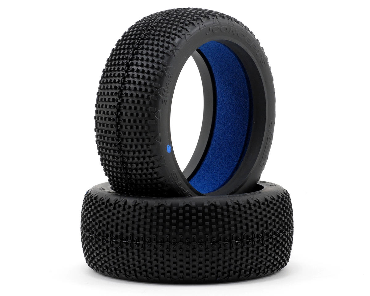 JConcepts Hybrid 1/8th Buggy Tires (2) (Blue)