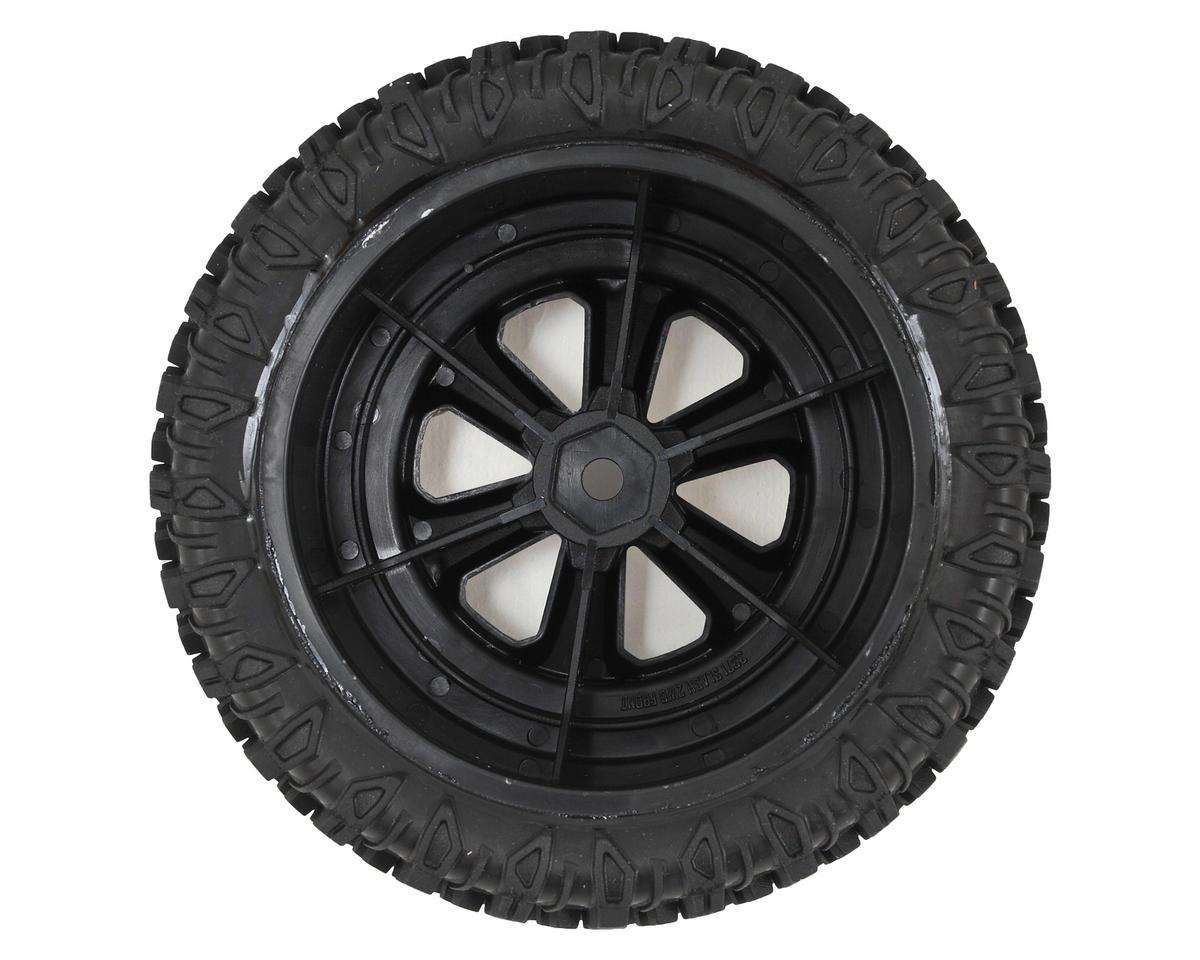 JConcepts Scorpios Pre-Mounted SC Tires w/Hustle Wheel (2) (Slash Front (Green)