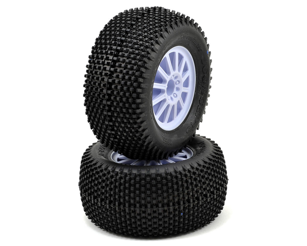 JConcepts Subcultures 2.8 Pre-Mounted Front Wheels (Rulux) (2) (Black)