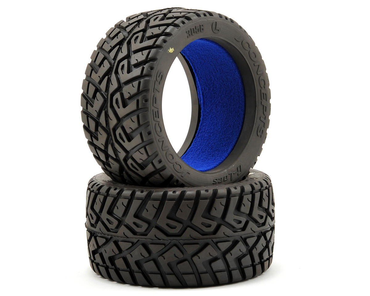 "JConcepts G-Locs 2.8"" On-Road Truck Tires (2) (Yellow)"