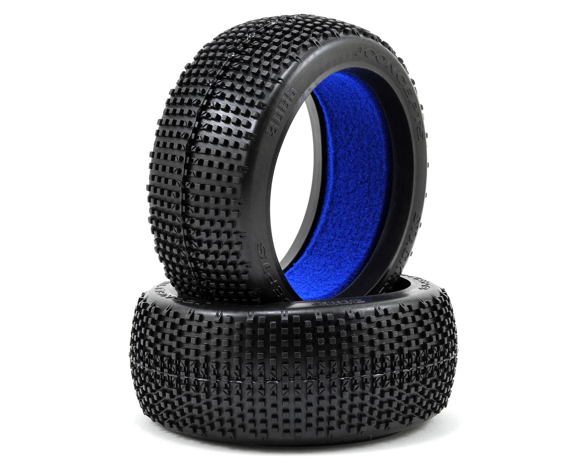 JConcepts Stackers 1/8th Buggy Tires (2) (Yellow)