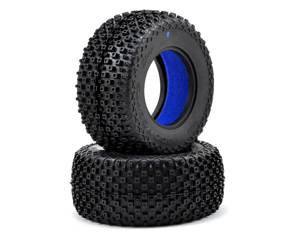 Choppers Short Course Tires (2) (Blue) by JConcepts