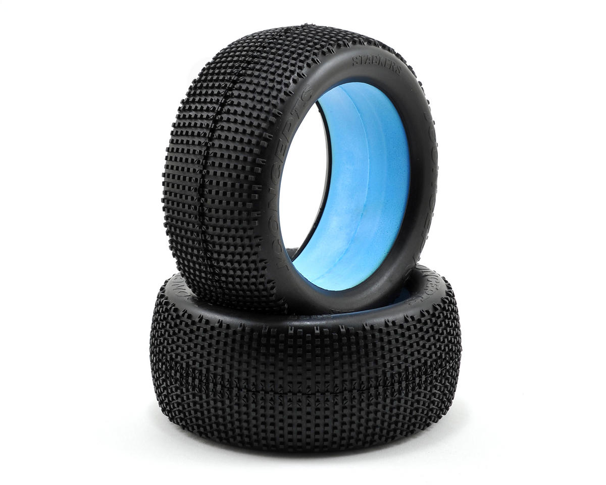 "JConcepts Stackers ""EB"" 1/8th Truggy Tires (2) (Blue)"