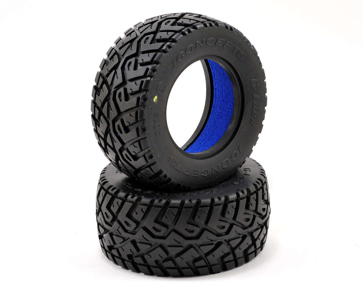 JConcepts G-Locs Short Course Tires (2) (Yellow)