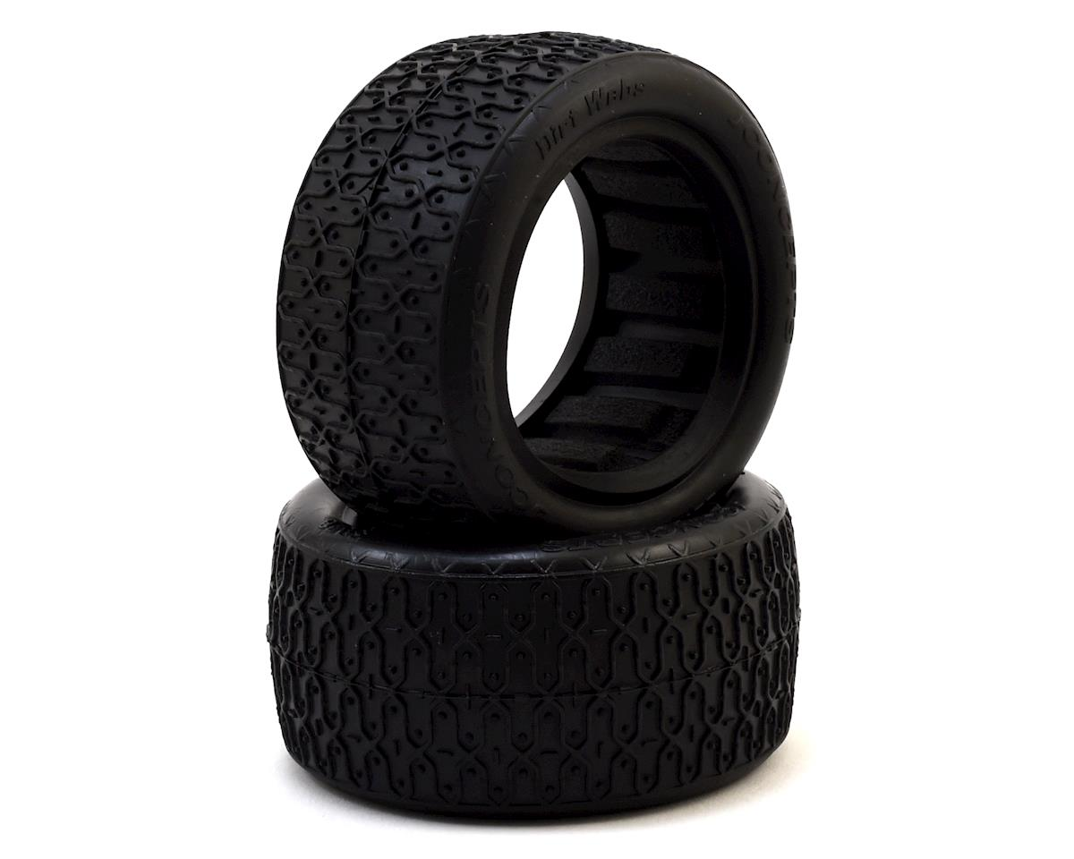 "JConcepts Dirt Webs 2.2"" Rear Buggy Tire (2) (Green)"