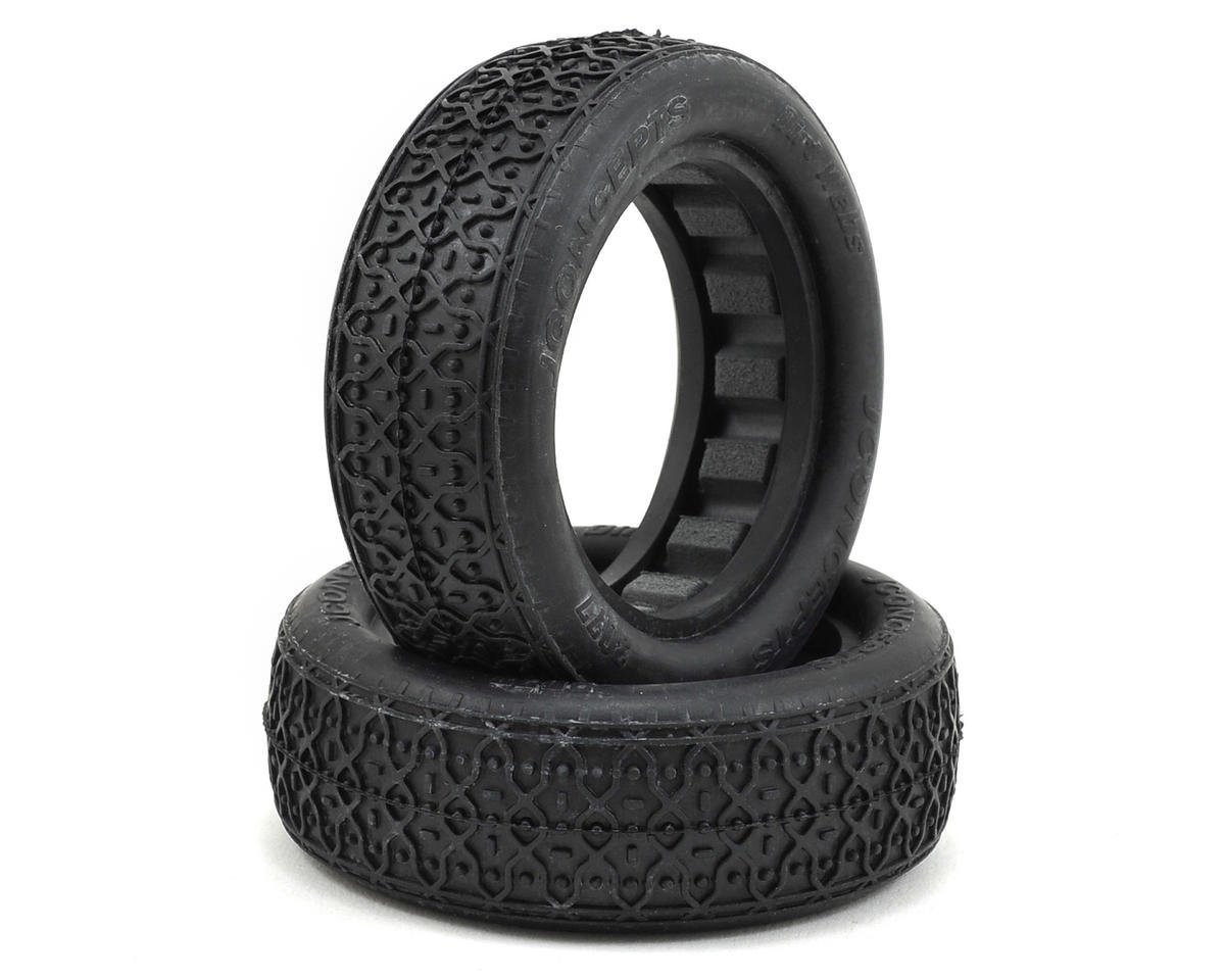 "JConcepts Dirt Webs 2.2"" 1/10 2WD Front Buggy Tires w/Dirt Tech Inserts (2) (Gold)"