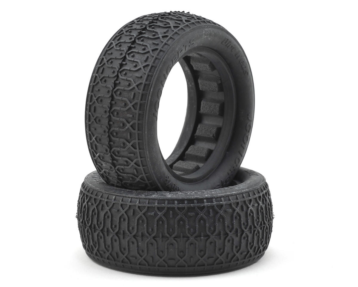 "Dirt Webs 2.2"" 4WD Front Buggy Tire (2) (Gold) by JConcepts"