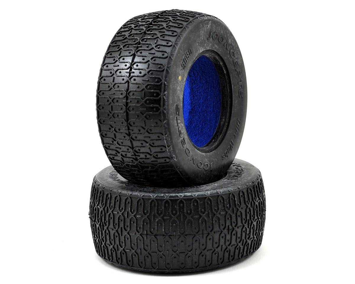 Dirt Webs Short Course Tires (2) (Gold) by JConcepts