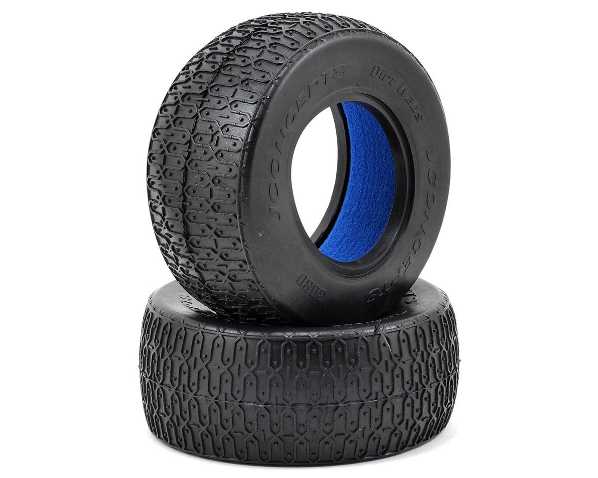 Dirt Webs Short Course Tires (2) (Black) by JConcepts