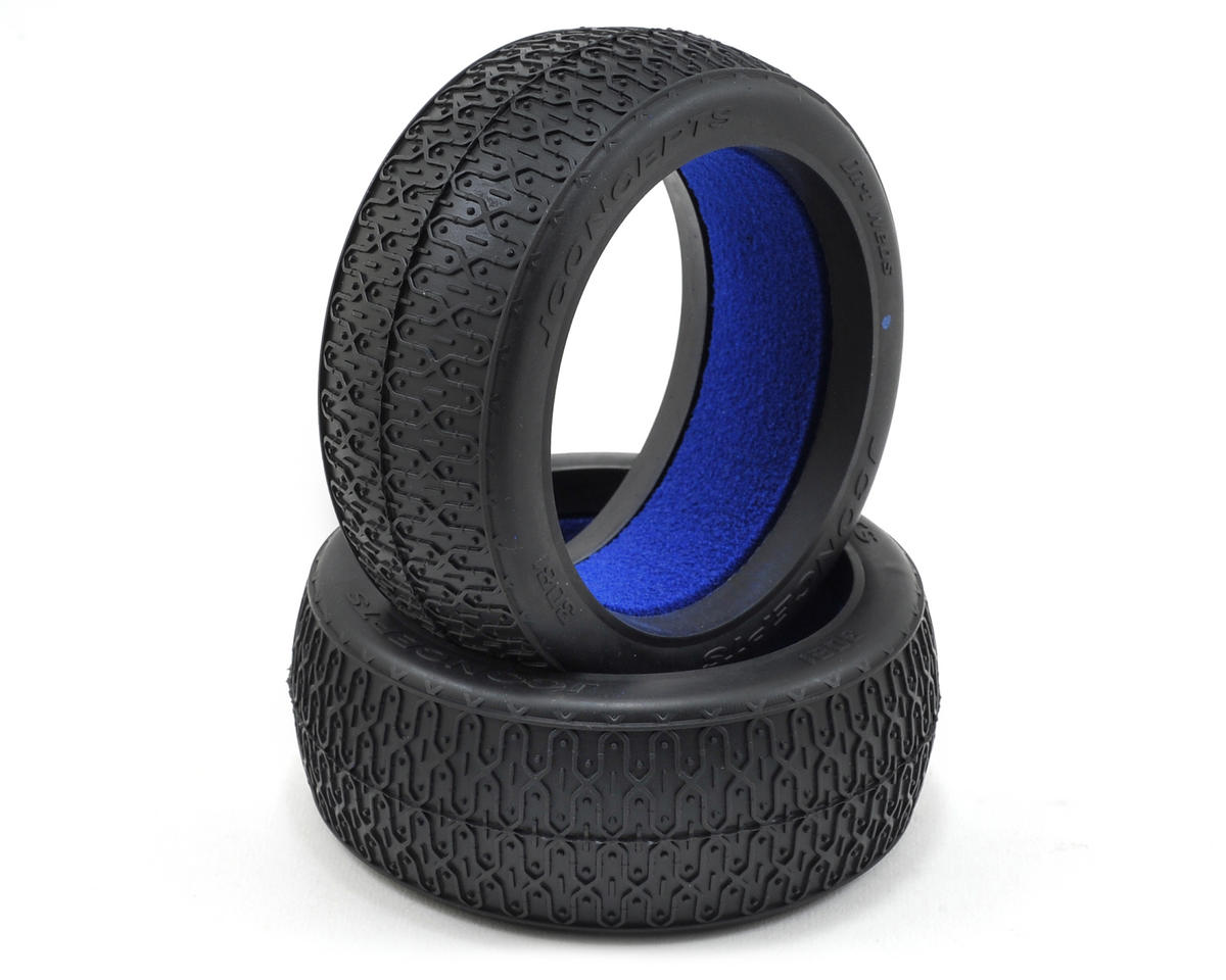 JConcepts Dirt Webs 1/8th Buggy Tires (2) (Blue)