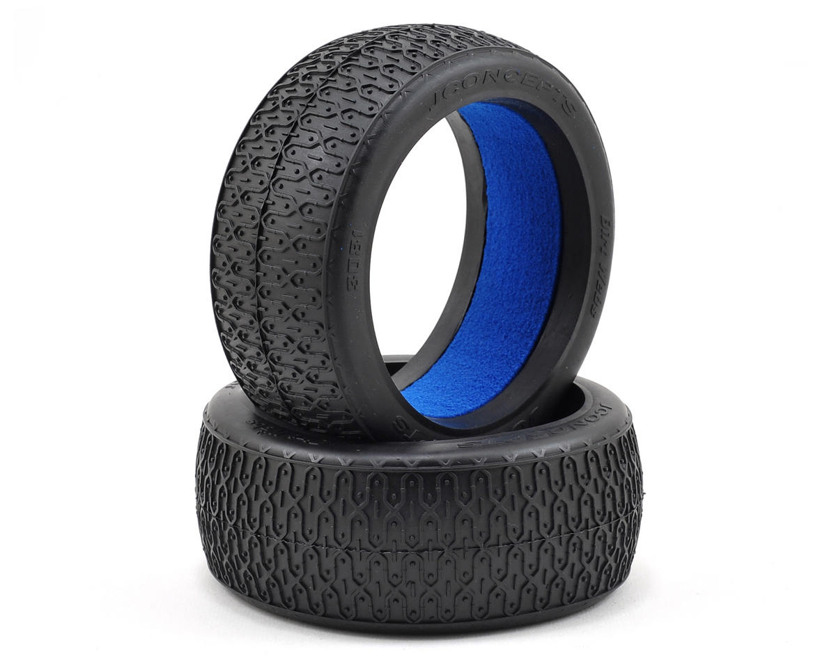 Dirt Webs 1/8th Buggy Tires (2) (Black) by JConcepts