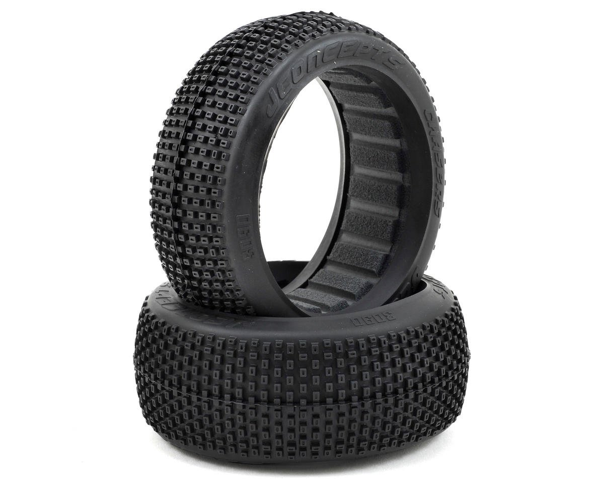 JConcepts Chasers 1/8th Buggy Tire (2) (Blue)