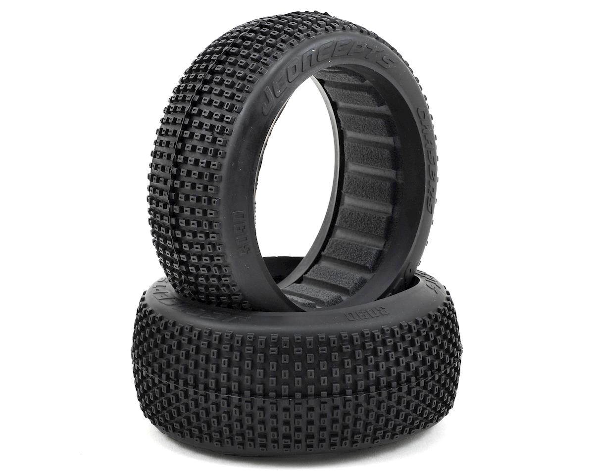 JConcepts Chasers 1/8th Buggy Tire (2) (Red)